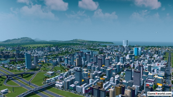 Cities: skylines - deluxe edition [v 1.7.0-f5 + dlcs] (2015) pc | repack от xatab. Скриншот №5