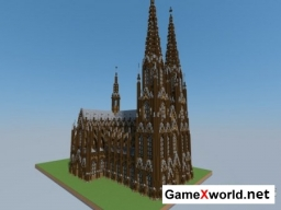 Cologne Cathedral для Minecraft
