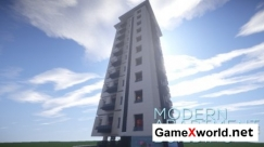 Modern Apartment Building #4 для Minecraft