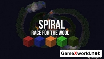 SPIRAL Race for the Wool карта для Minecraft