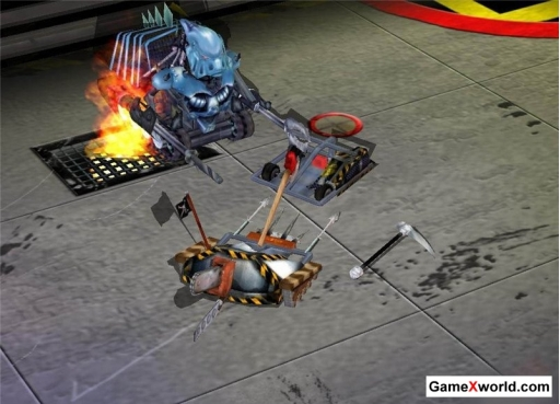 Robot wars: arena of destruction (2002) pc. Скриншот №2