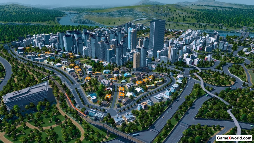 Cities: skylines - deluxe edition [v 1.7.0-f5 + dlcs] (2015) pc | repack от xatab. Скриншот №1