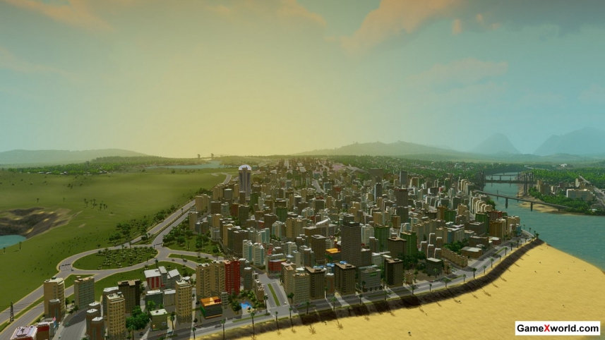 Cities: skylines - deluxe edition [v 1.7.0-f5 + dlcs] (2015) pc | repack от xatab. Скриншот №4