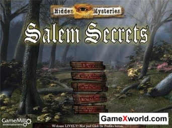 Hidden mysteries salem secrets (2010/Eng)