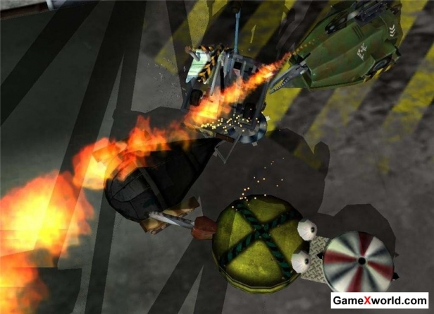 Robot wars: arena of destruction (2002) pc. Скриншот №3